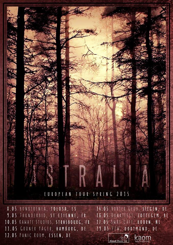 Astralia Europe Tour Poster